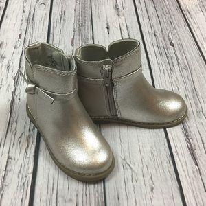Gap Girls 6 8 9 Toddler Silver Boots